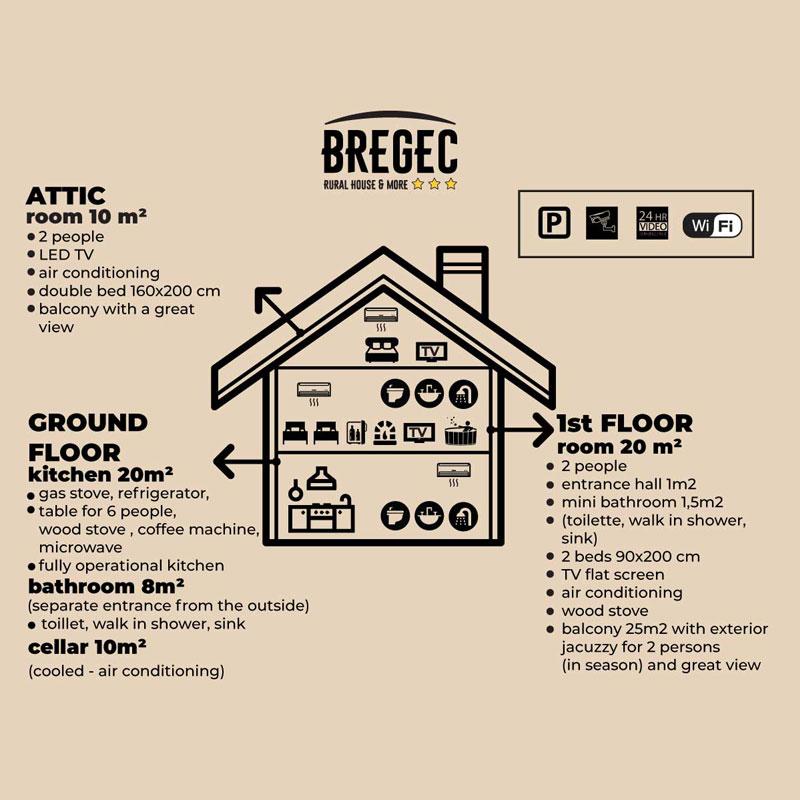 Bregec Rural House